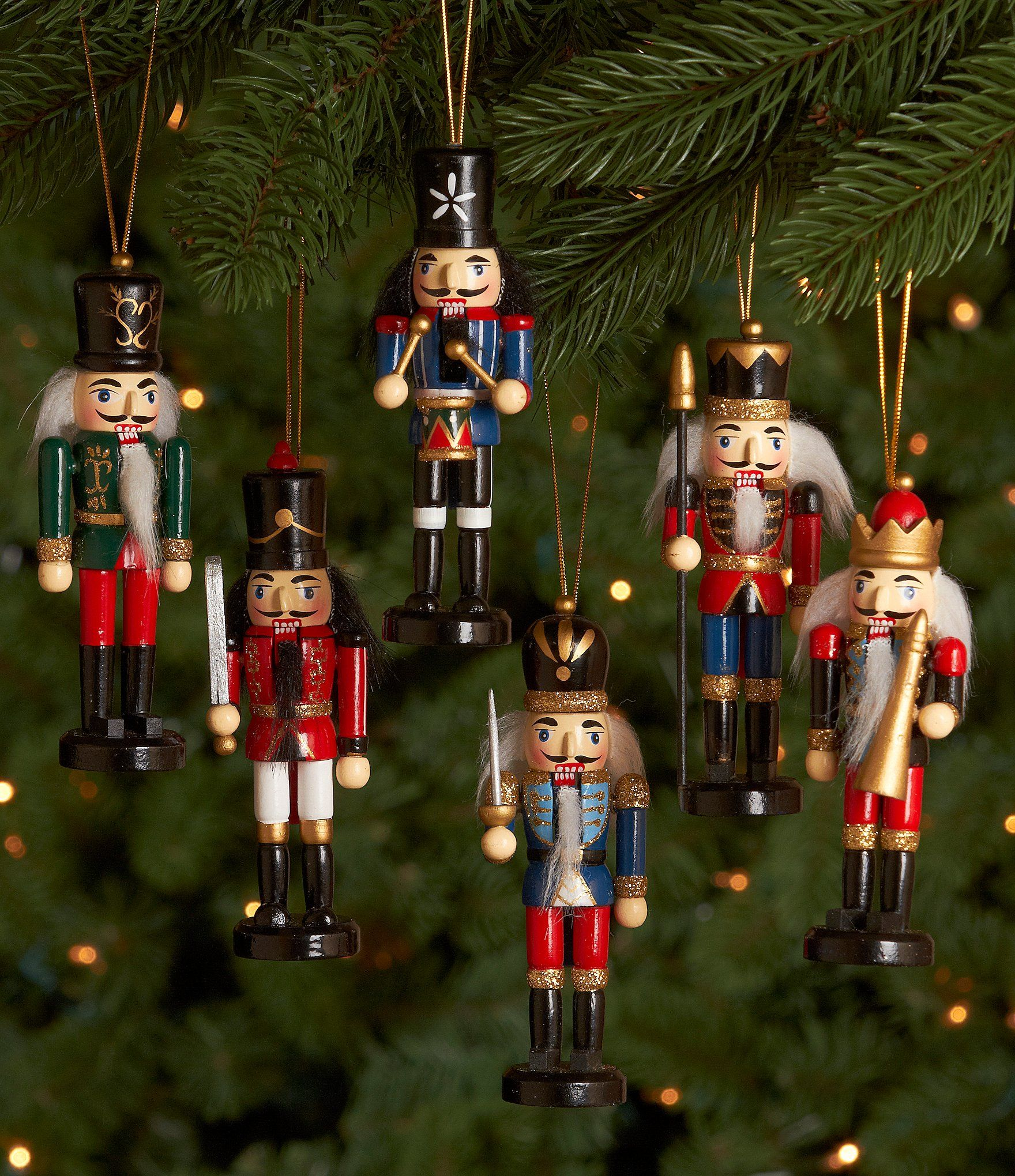 Shop for Dillards Trimmings Nutcracker Ornament Set at