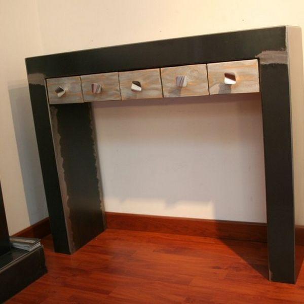 Console tiroirs www.loftboutik.com