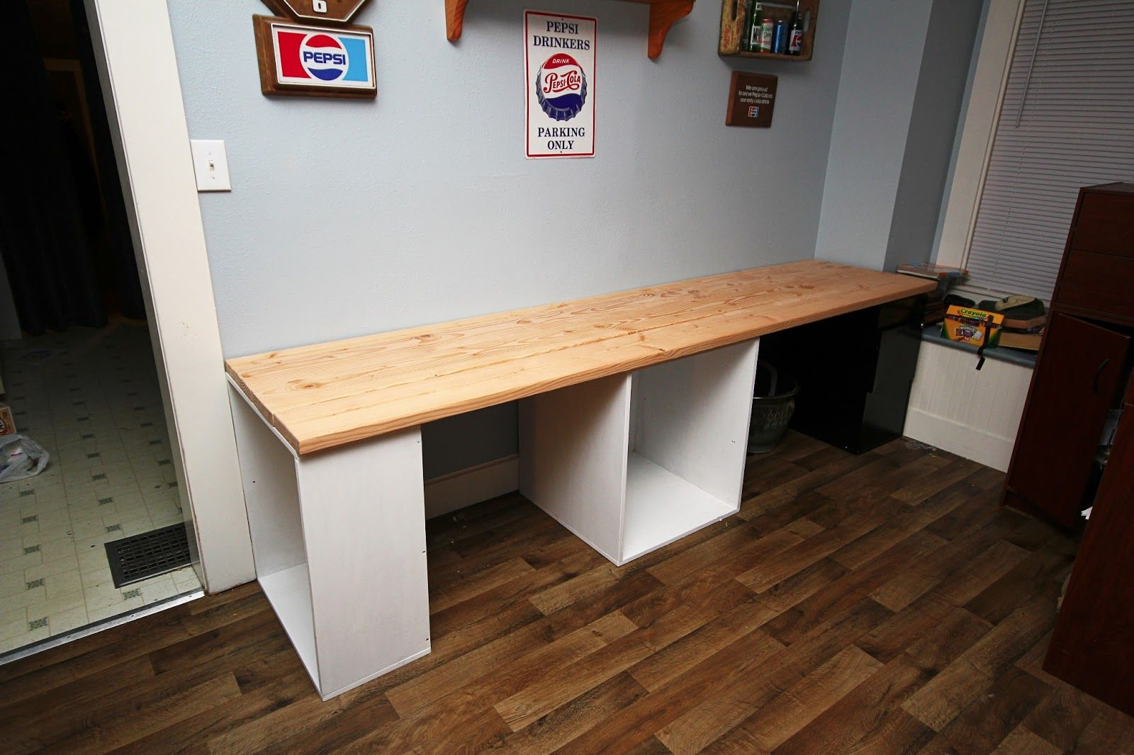 Long Computer Desk Table