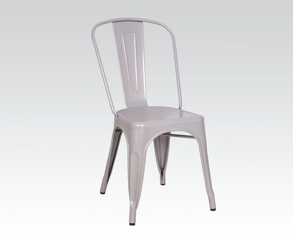 Jakia silver side chair products pinterest side chair