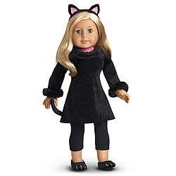 American Girl... Milla wants to be a kitty for Halloween! | AGD ...