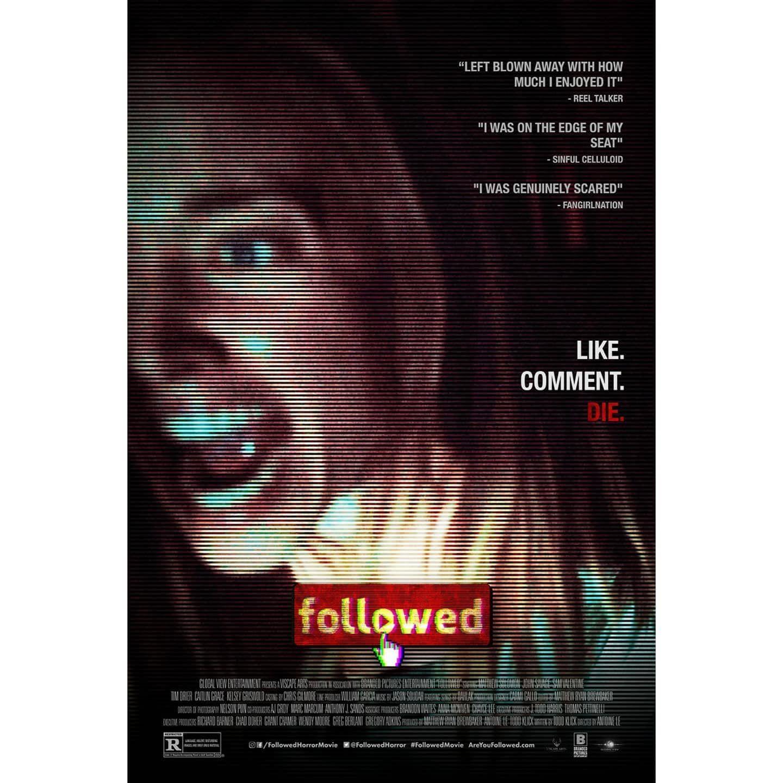 Quien Te Esta Siguiendo Poster De Followed Proximamente Go To Movies Movie Posters Movie Posters Design