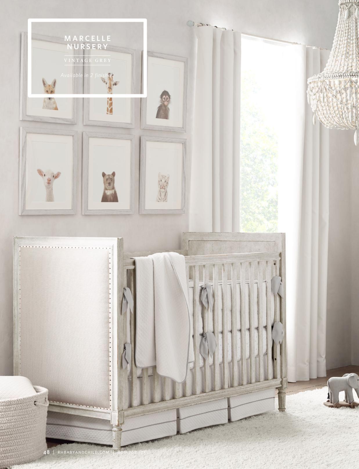 Gray Baby Boy Room Ideas: RH Baby & Child Source Books