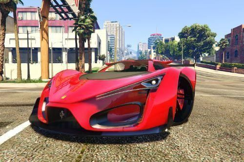 Ferrari F80 2016 Add-on #ferrarif80 Ferrari F80 2016 Add-on #f..., #Addon #F80 #Ferrari #f...