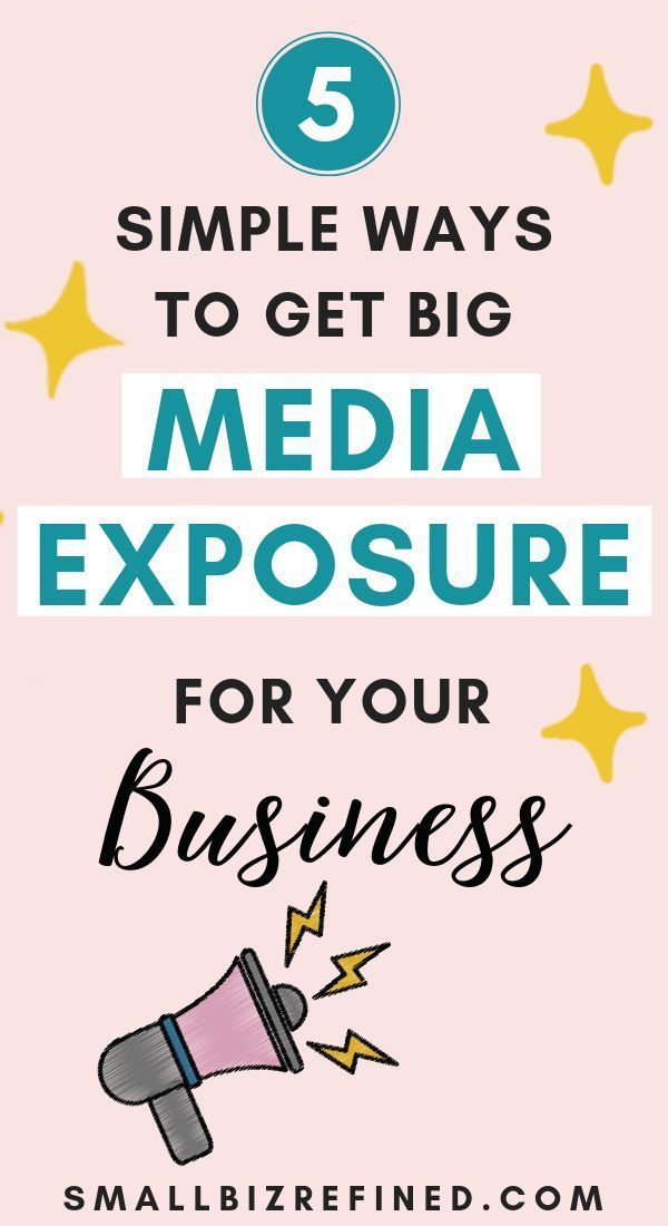 Want to get big media exposure for your business and sell more products? Here are 5 simple and effective ways to get your business featured online, in blogs and on big media sites. These are great tips for leveraging the media to grow your business, get traffic to your website, and get your products seen by a large audience. #smallbusiness #etsytips #businesstips #onlinebusiness #entrepreneur