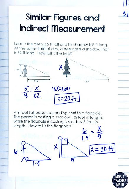 Similar Polygons INB Pages | Boy Scouts | Pinterest | Word problems ...