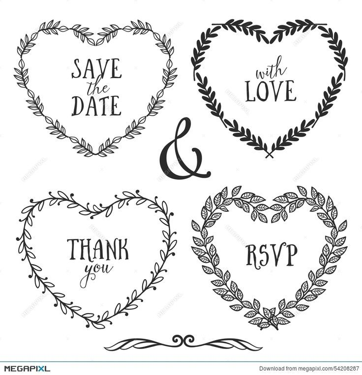Photo of Heart Wreath Doodle Valentine Day Ideas
