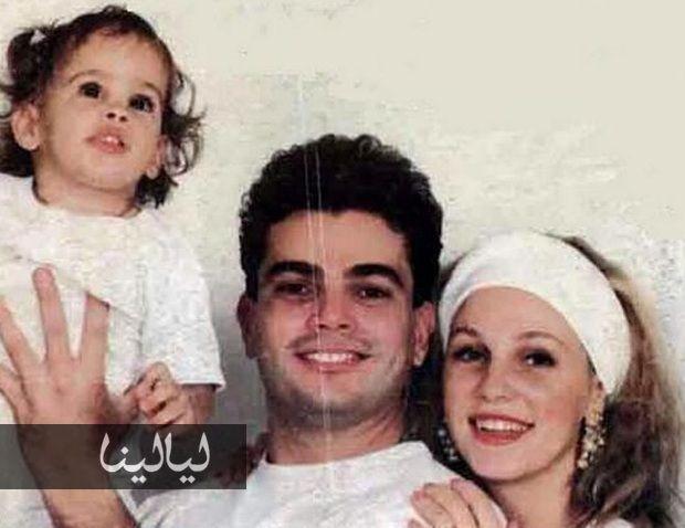 صورة نور ابنة عمرو دياب وشيرين رضا تشعل مواقع التواصل موقع ليالينا Baby Face Couple Photos Photo