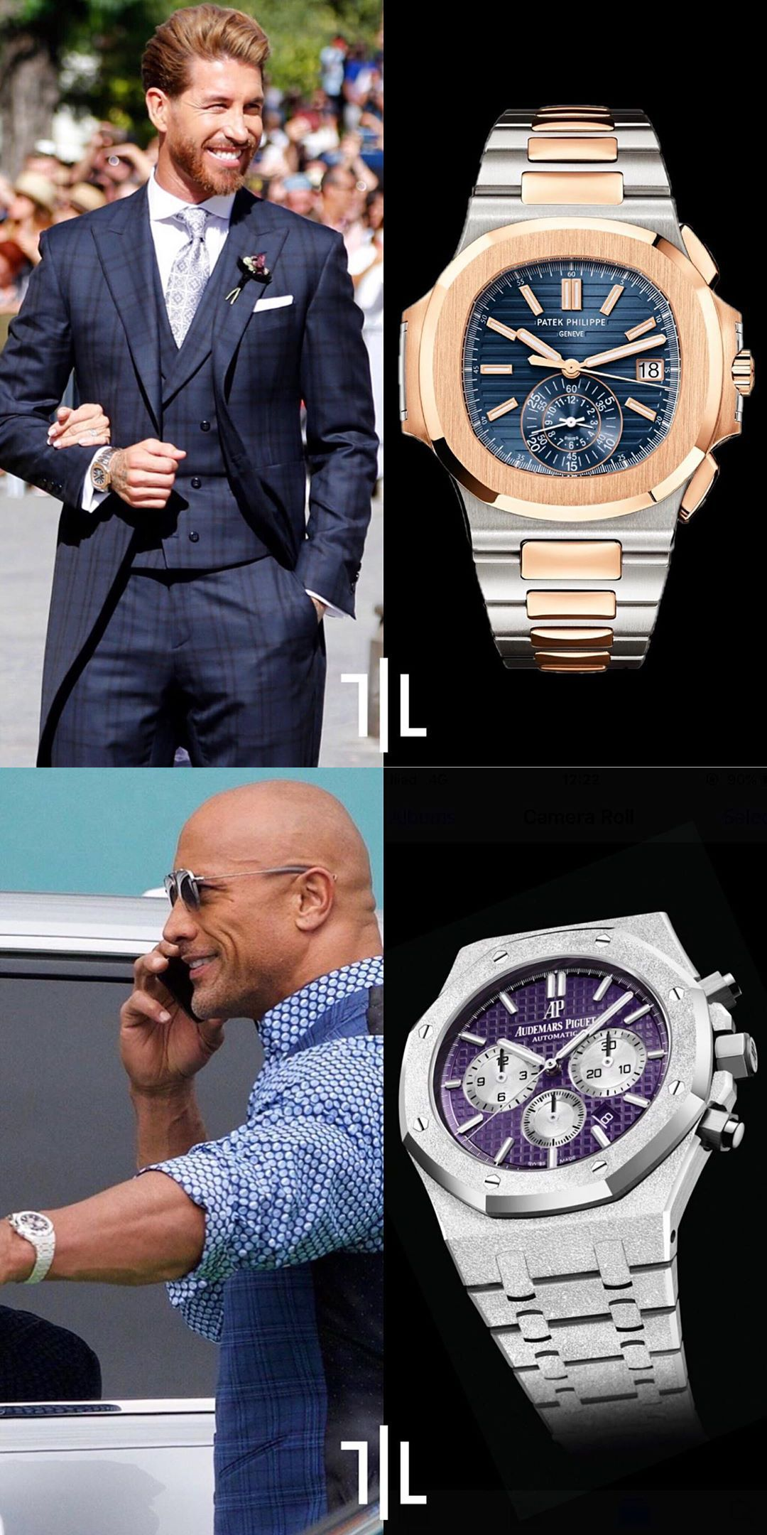 The Rock And A Celebrity Both Wear High End Luxury Watch Patek Philippe And Audemars Piguet Presenting The F Best Watch Brands Watches For Men Luxury Watches
