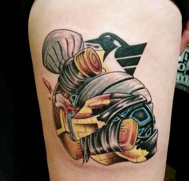 Meet stick tattoo artist brandon volek stick tattoo for Pittsburgh tattoo ideas