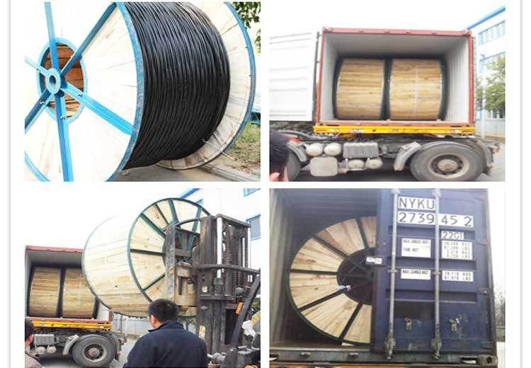 Medium voltage 3 core 11kV 15kV 33kV CU/XLPE/SWA/PVC steel wire ...