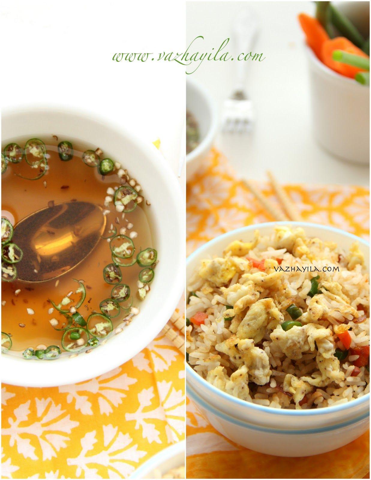 Vazhayila.com: Egg Fried Rice - Kerala style | Fried rice ...