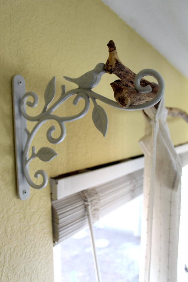 Diy Tree Branch Curtain Rod Idee Rideaux Decoration Fenetre