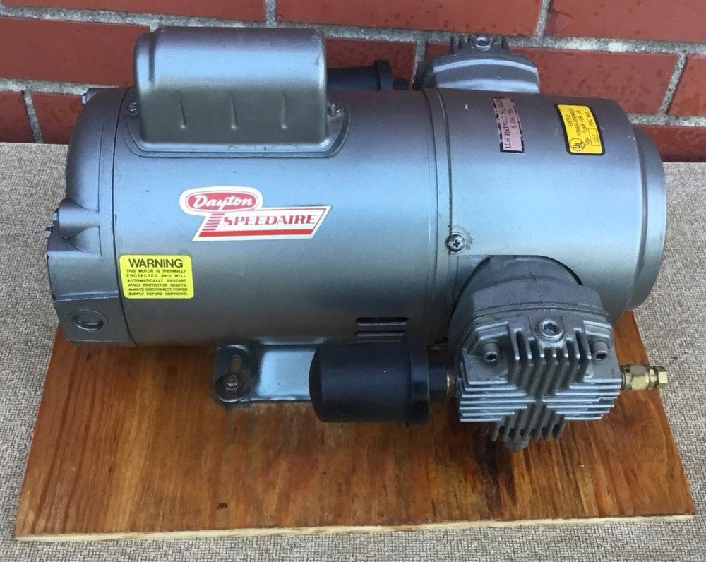 Dayton Speedaire 2Z869 1/2 HP oilless reciprocating Air