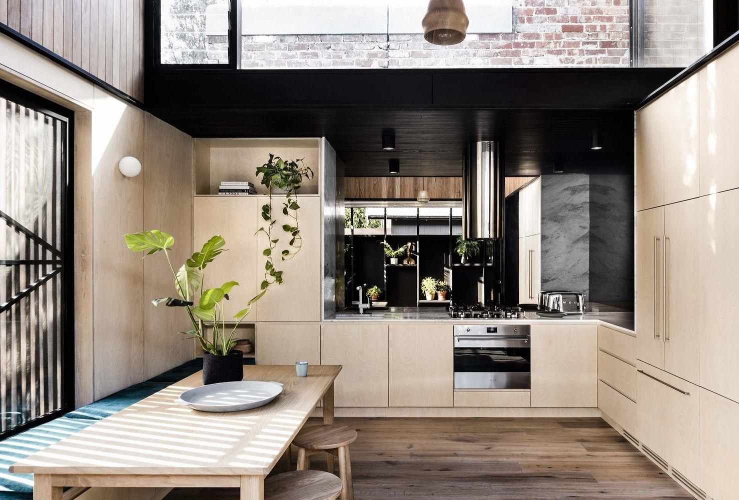 Gallery Of Light Corridor House Figr Architecture Design 5 Kitchen Design Kitchen Design Trends Kitchen Interior