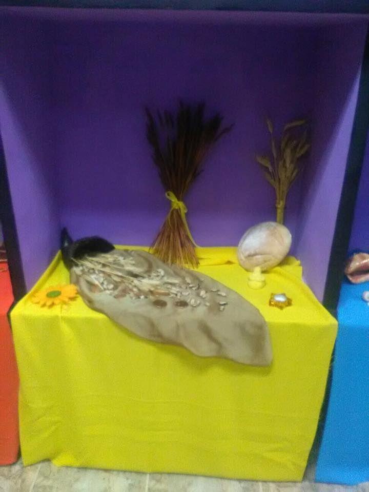 Mini-altar de Lammas Septiembre 2016