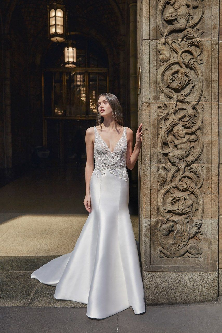 6e4df65b9ed1 Bliss Monique Lhuillier Bridal & Wedding Dress Collection Spring 2020 |  Brides