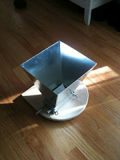 Homebrew Finds: Reader Photo: 2 Roller Adjustable Grain Mill - $99 Shipped