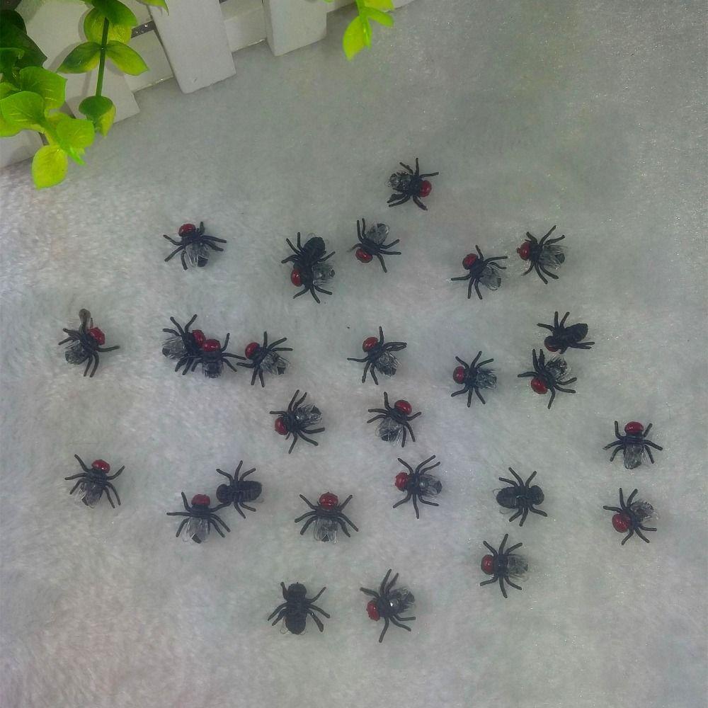 10 Sztuk Partia Zarty Smieszne Zabawki Bugs Prima Aprilis Gags Praktyczne Fly Plastikowe Symulowane Latajace H Funny Toys April Fools Day Halloween Decorations