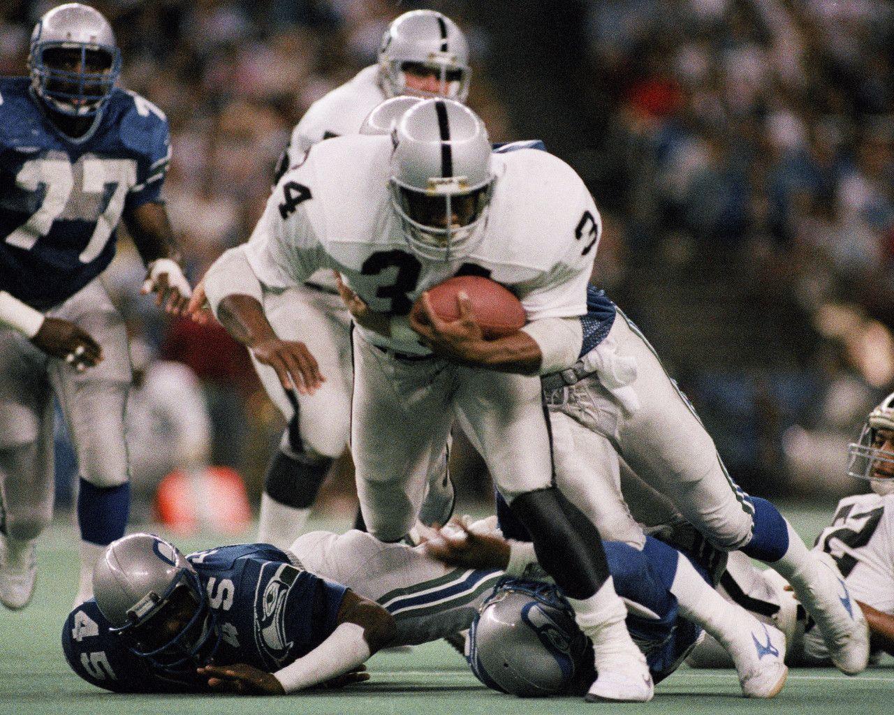 Top 15 Rookie Performances Bo Jackson Oakland Raiders Raiders Cheerleaders