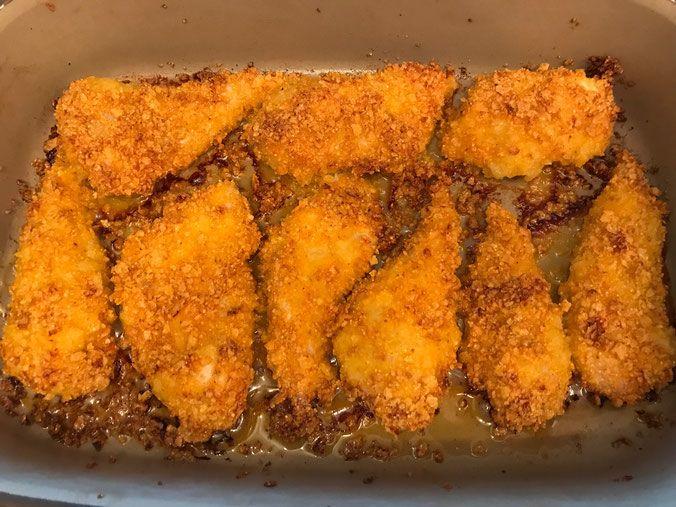 Knusper-Hähnchenbrust aus der Ofenhexe von Pampered Chef