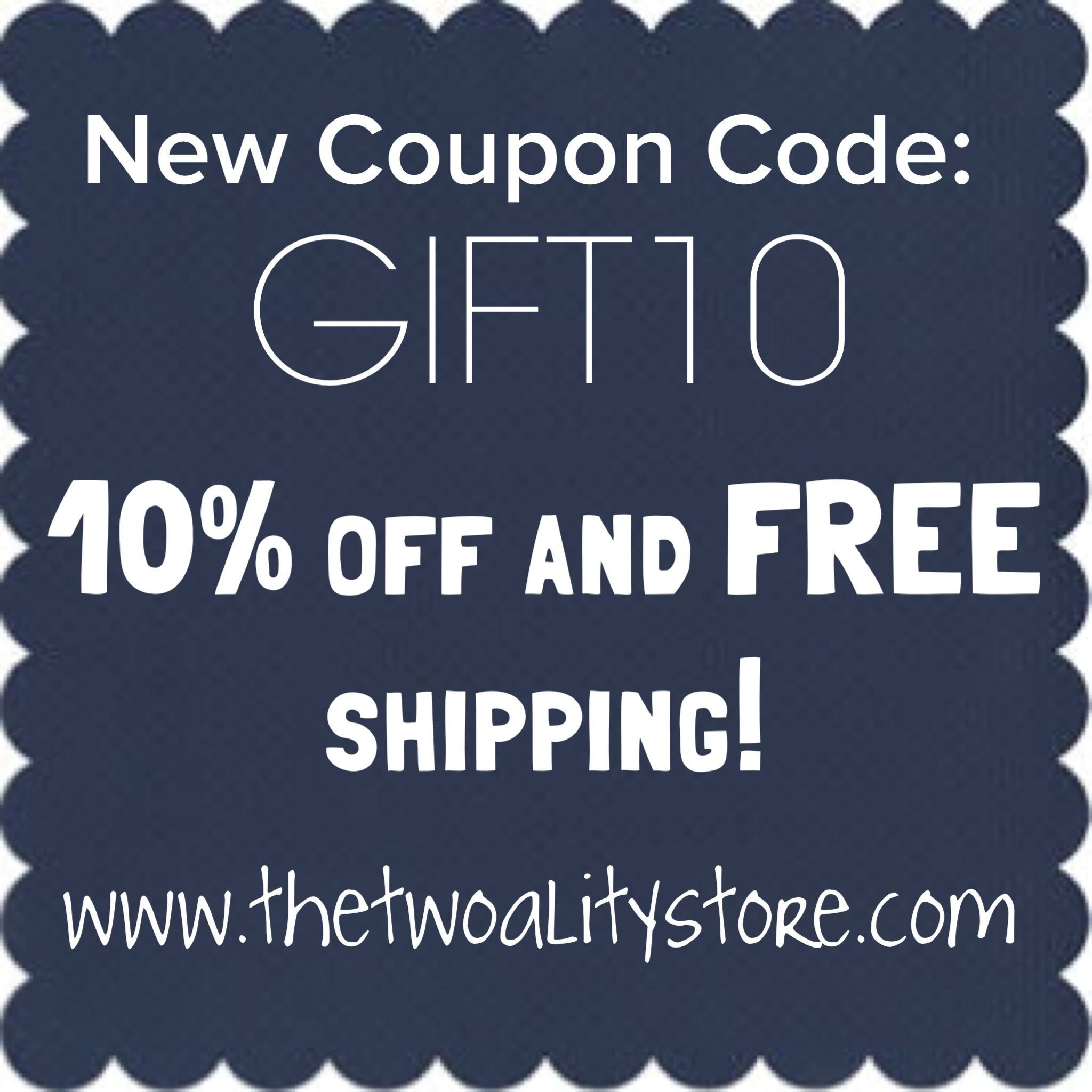 Enter Coupon Code Gift10 At Checkout To Receive 10 Off Your Order And Free Shipping No Minimum Purchase Necessary Cou Coding Coupon Codes New Fashion Trends