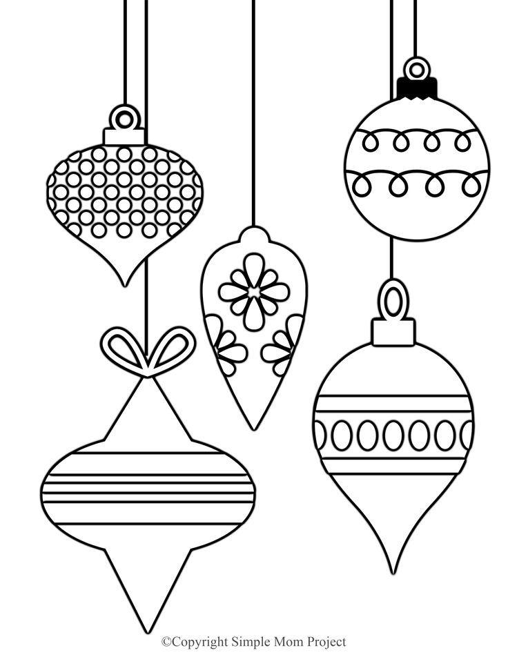 Free Printable Christmas Coloring Sheets for Kids and ...
