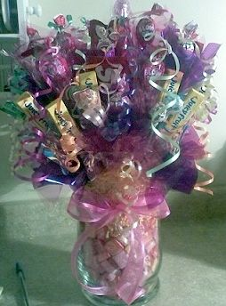 Make Candy Bar Bouquets