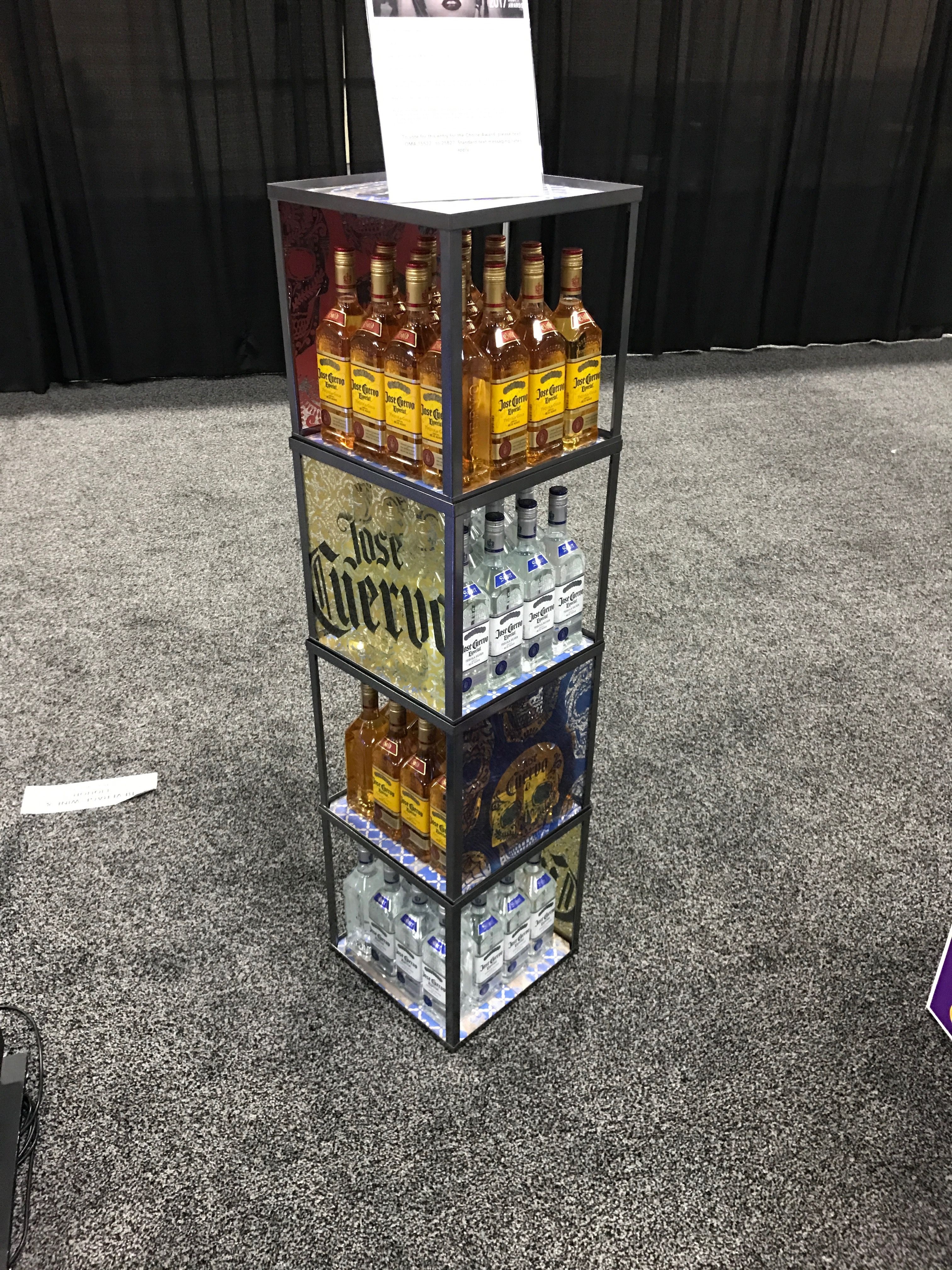 Jose Cuervo Tequila Free Standing Unit - Looking to get noticed with your point of sale display in a busy, fast-paced retail environment? Increase confidence in your sales with www.popthis.com.au