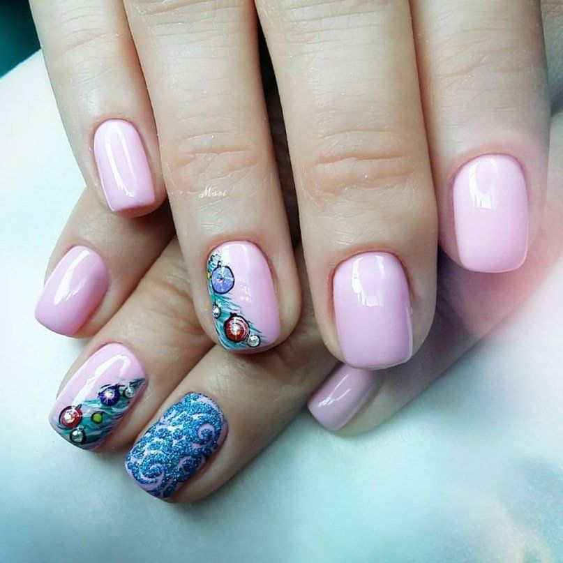 Nail Art #3163 - Best Nail Art Designs Gallery | Winter nail art ...