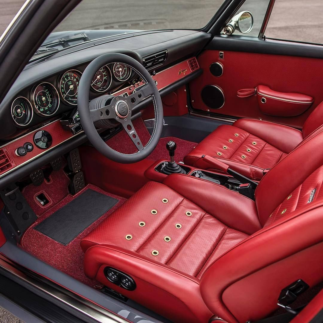 porsche 964 interior refinished by singer vehicle design cars porsche pinterest porsche. Black Bedroom Furniture Sets. Home Design Ideas