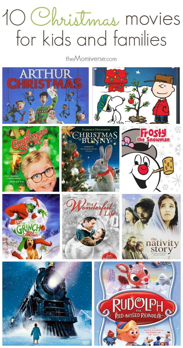 10 Christmas movies for kids and families | The Momiverse | Holidays ...