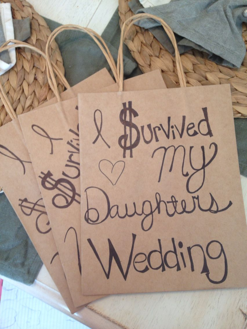 Wedding Gift Ideas Handmade I Survived My Daughters Sons