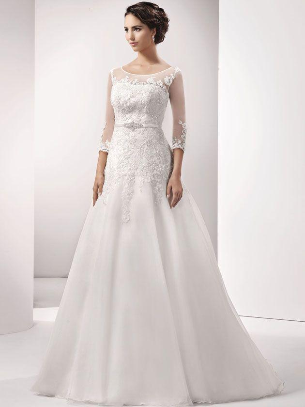 Agnes Bridal Dream Brautkleider 2016   ms Bildergalerie - Modell 15011 by AGNES BRIDAL DREAM