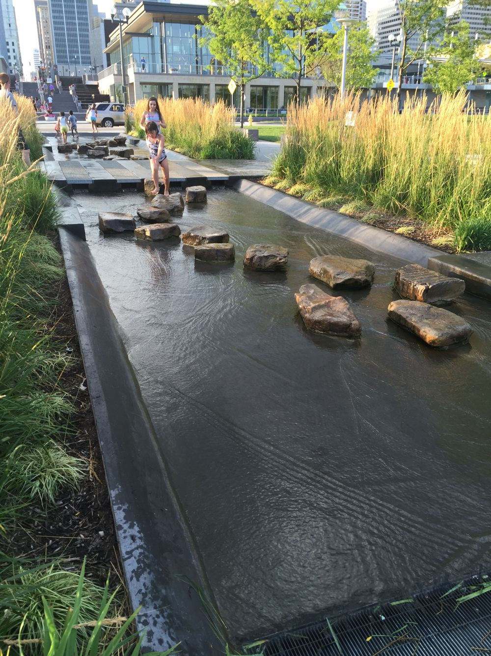 Water Feature At Smale Riverfront Park Landscape Architecture Park Water Features Outdoor Water Features