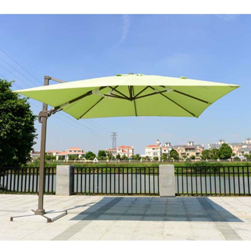 Factory Popular Trendy Style Big Size Outdoor Sun Garden Parasol In