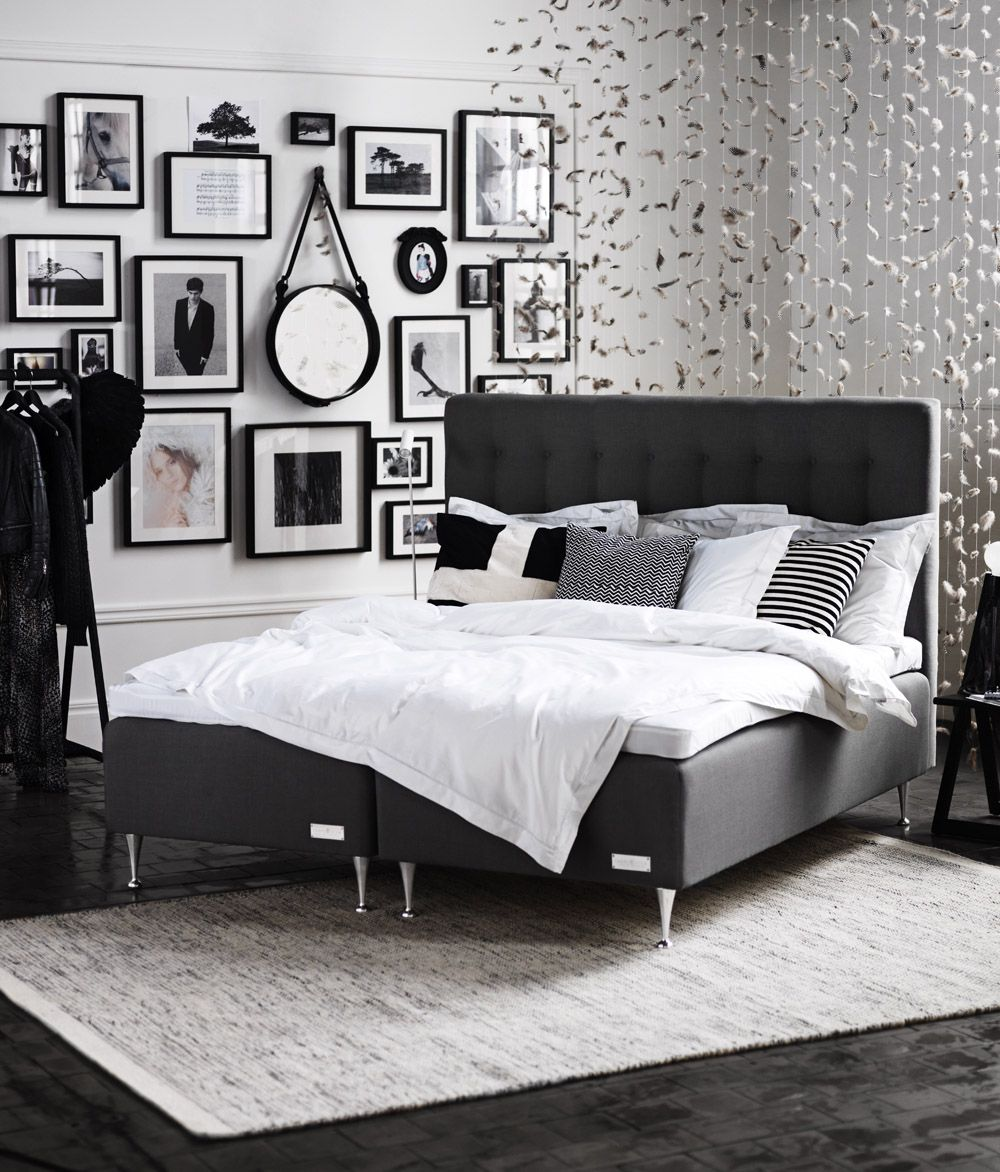malö boxspring black boxspring boxspring carpe bedroom blackbedroom ...