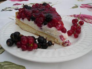Süße Versuchung: Ich liebe diesen Johannisbeer Kuchen, der noch dazu nicht viel Arbeit macht.