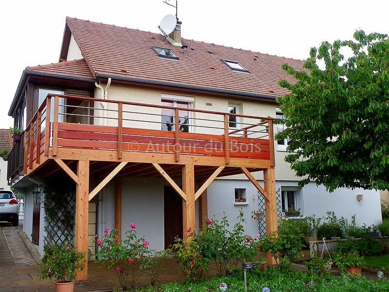 prix d 39 une terrasse bois sur pilotis projets essayer pinterest terrasse bois sur pilotis. Black Bedroom Furniture Sets. Home Design Ideas