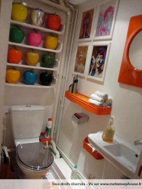 Photos d coration de toilettes de hfconcept un petit coin de d co pinterest decoration de - Amenagement toilettes ...