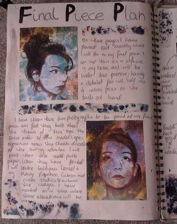 Planning For My Final Piece In 2019 Gcse Art Sketchbook