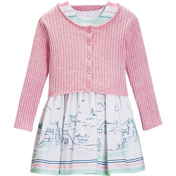 Baby Set Strickjacke+Kleid für Mädchen, next   myToys ...
