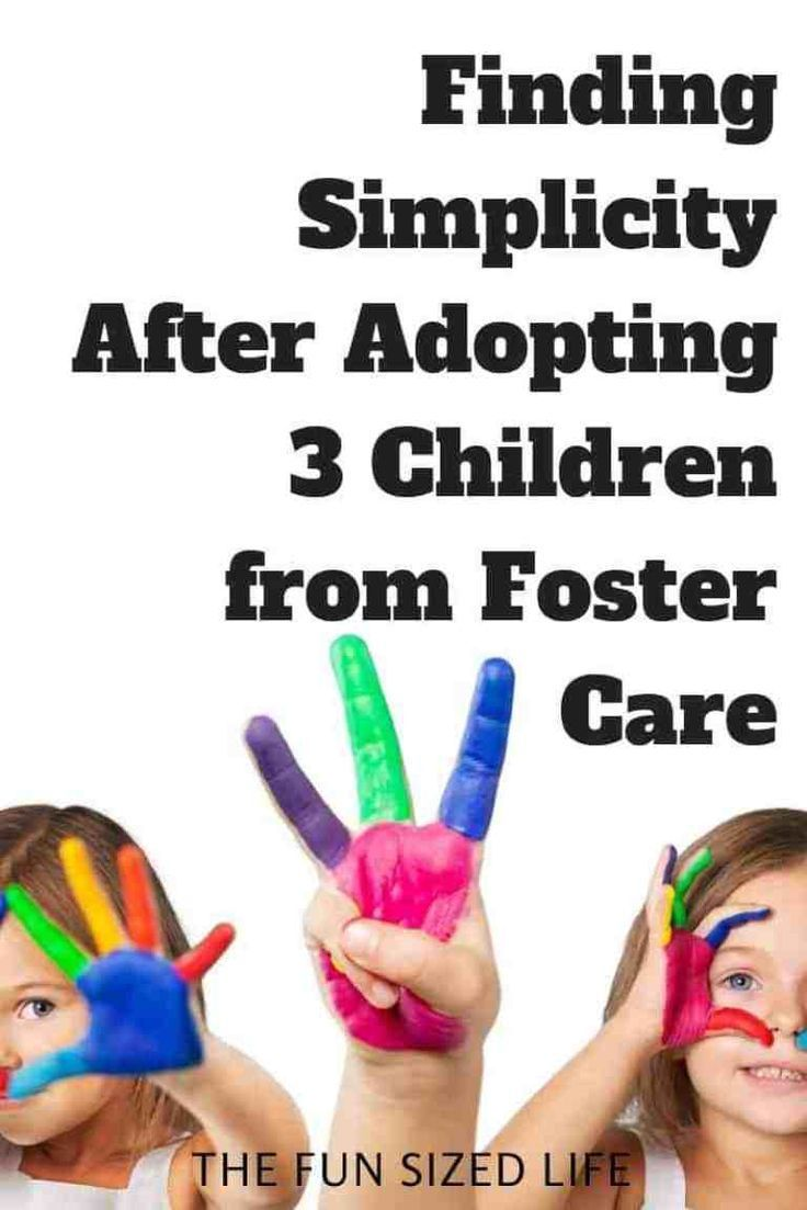 Finding Simplicity After Adopting Three Children from