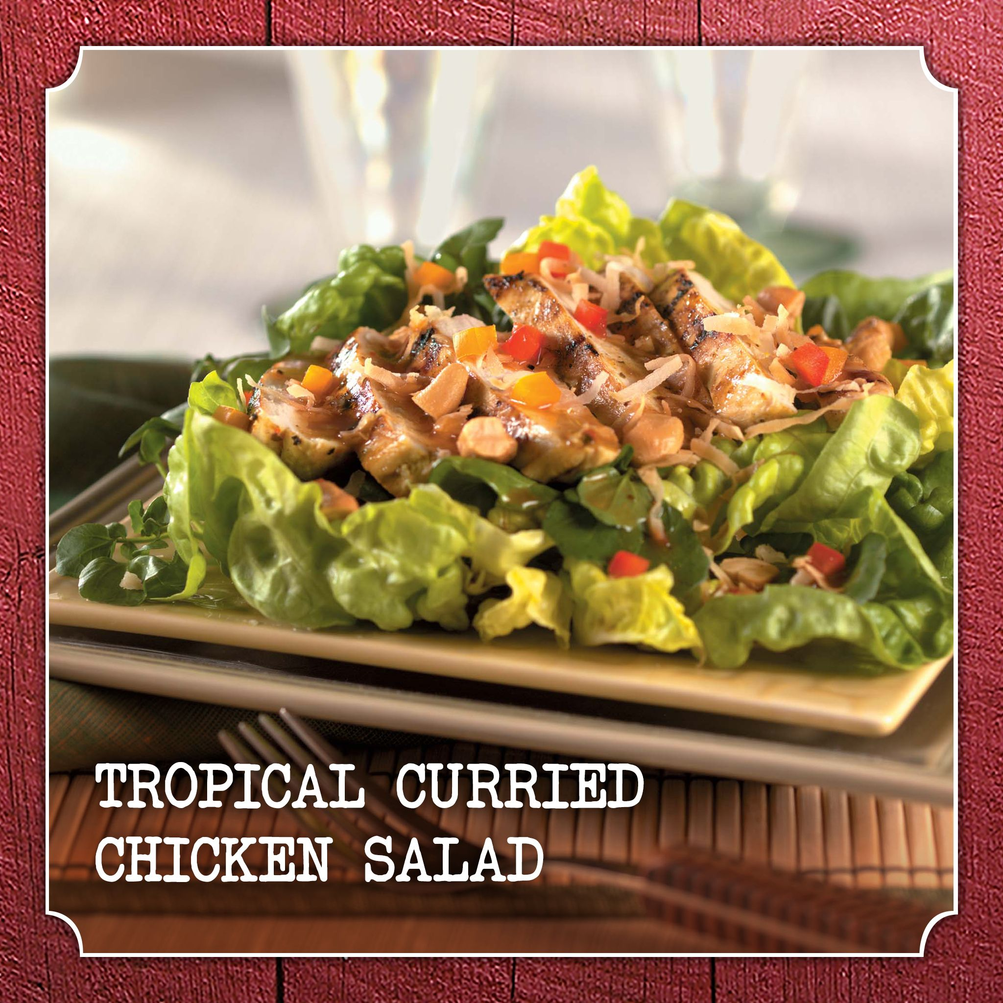 Tropical Curried Chicken Salad
