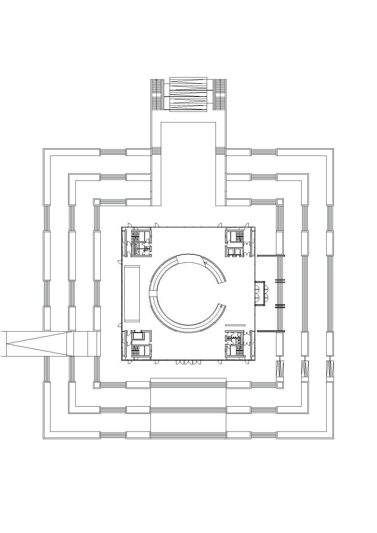 Hanoi Museum Gmp Architekten Arch2o Com Museum Architecture Museum Plan Museum Flooring