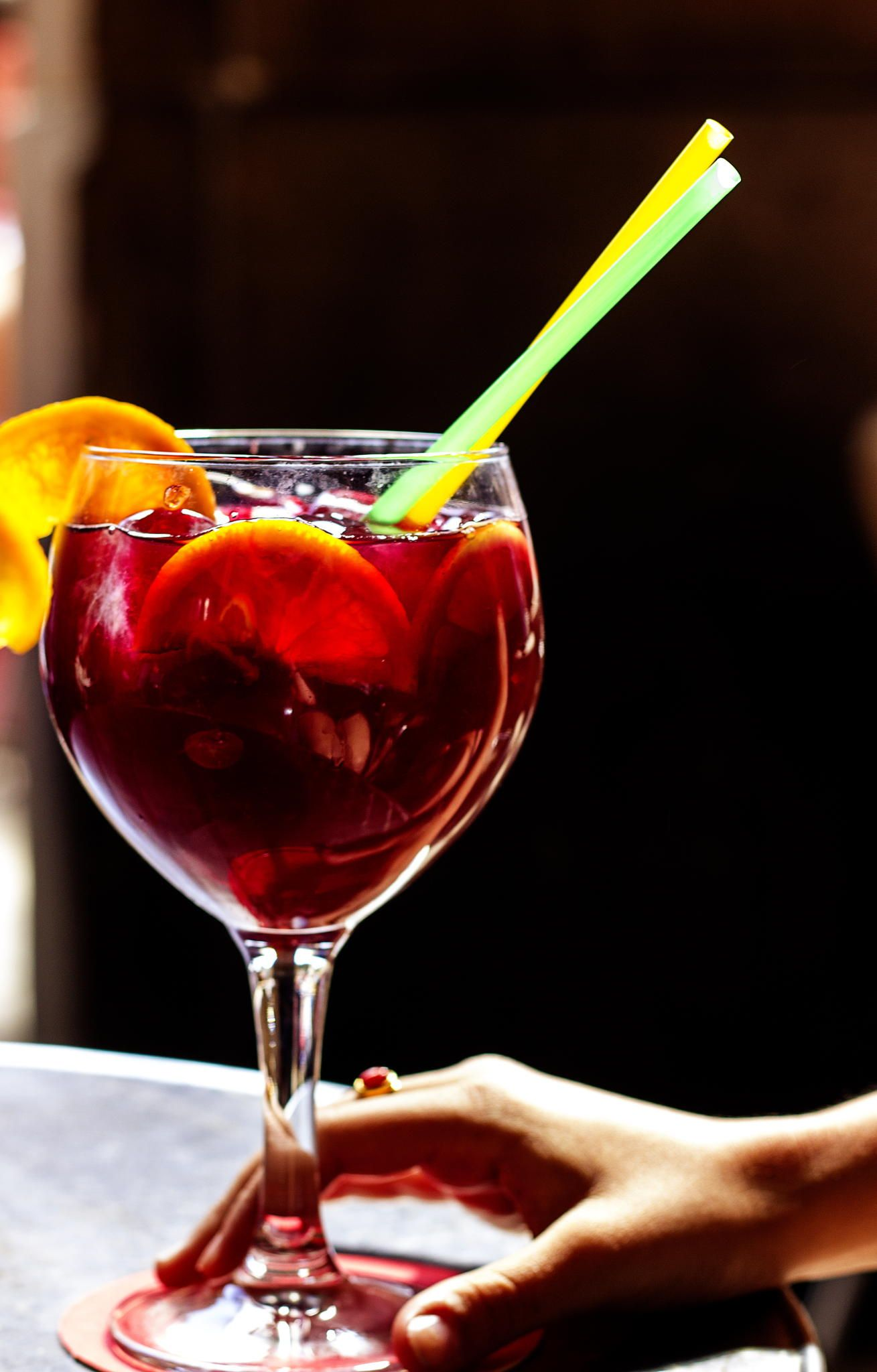 Sangria By Katie Meyer Sangria Alcoholic Drinks Alcohol