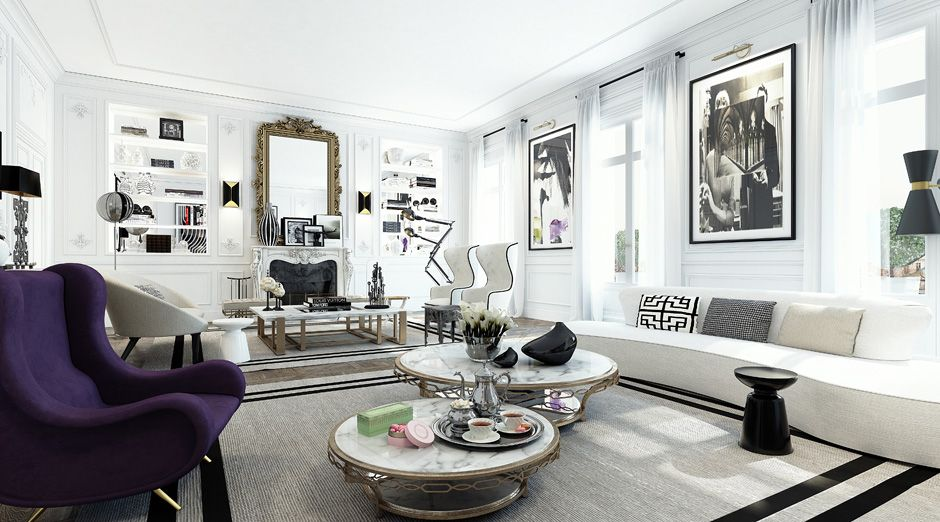Un appartement design à Saint-Germain (Paris) | Parisien ...