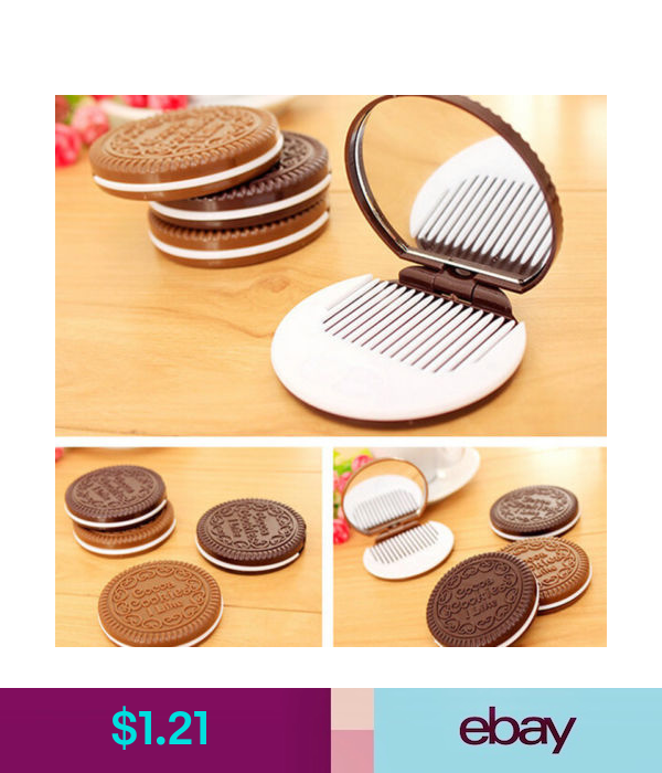Makeup Tools & Accessories Chocolate Cookie Mirror Compact