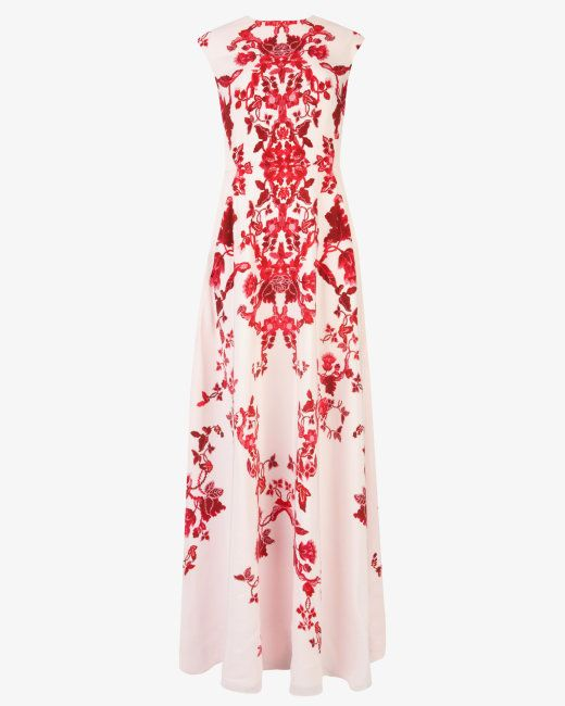 China red maxi dress - Nude Pink | Dresses | Ted Baker | Get In My ...