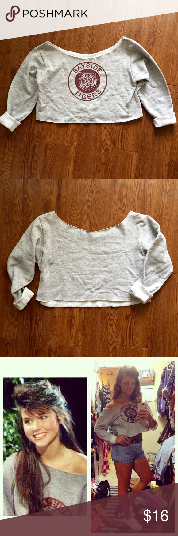 Kelly Kapowski Bayside Tigers Crop Sweatshirt Halloween is just ...